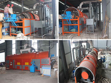 Beston Carbonization Machine for Sale