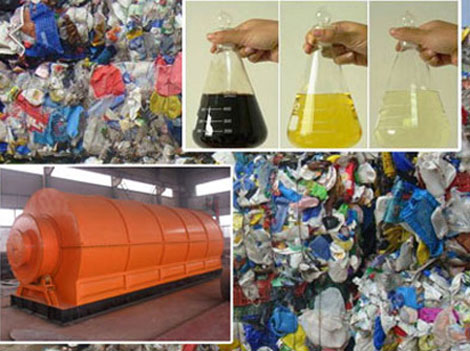 turning plastic into oil