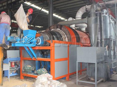 Beston Biomass Carbonization Machine