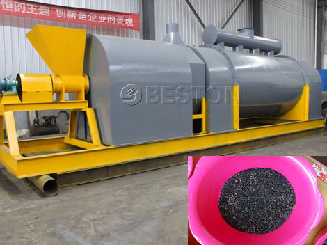 Sawdust-Charcoal-Making-Machine