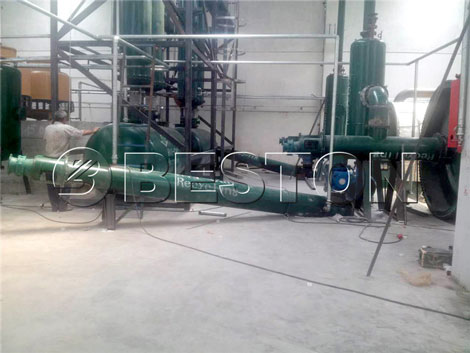 plastic pyrolysis equipment for sale