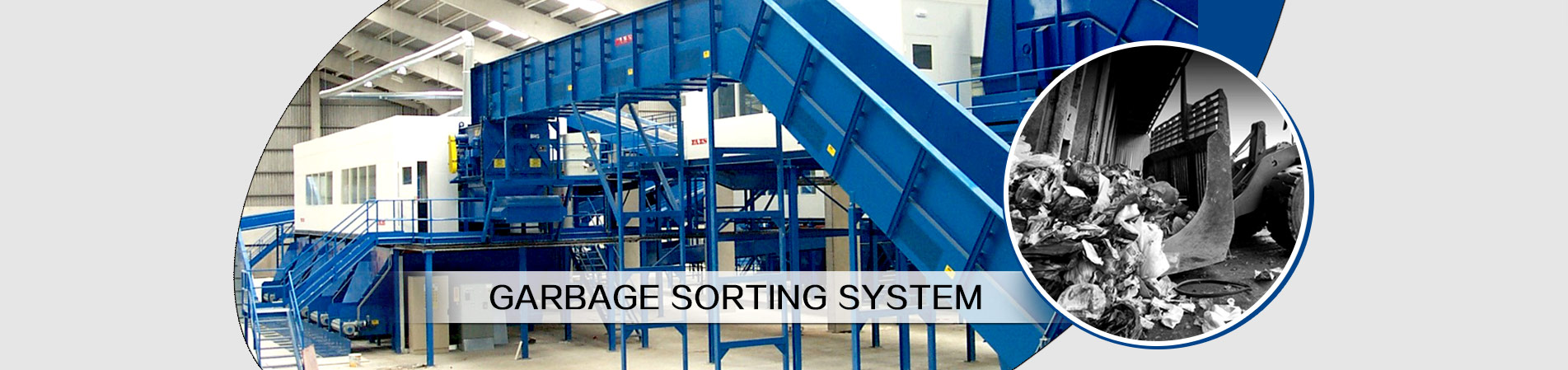 sorting machine banner