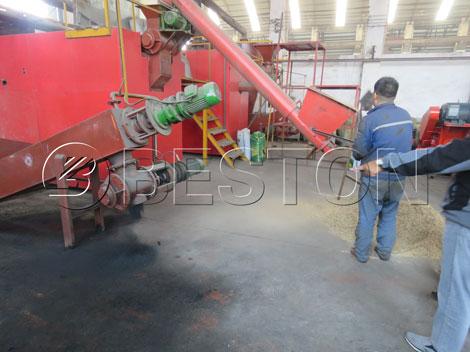 Beston Carbonization Machine