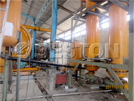 Beston Waste Pyrolysis Machines