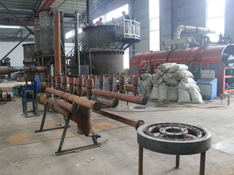 Palm Kernel Shell Charcoal Machinery