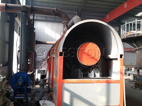 Straw to Charcoal Machine