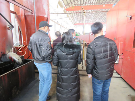 Sugarcane Bagasse Charcoal Machine