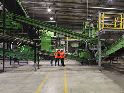 solid waste disposal plant