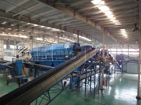 solid waste separation equipment