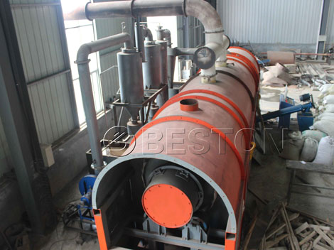 straw charcoal making machine