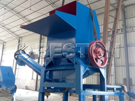 Recycling Machine for Plastic Waste