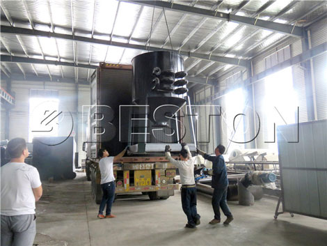 BLL-30 Continuous Pyrolysis Plant in South Africa
