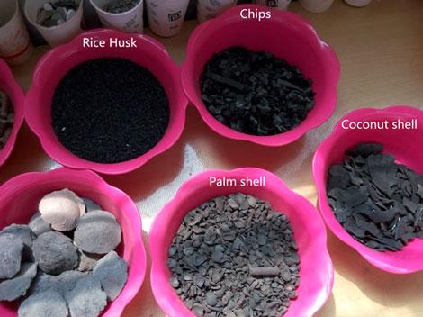 bio charcoal production