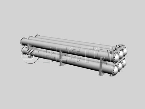 3D drawing of oil condenser
