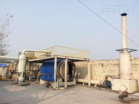 BLJ-16 Waste Recycling Pyrolysis Machine