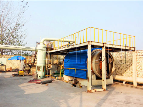 BLJ-6 plastic recycling pyrolysis machine for sale