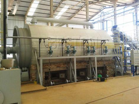 BLJ-16 Waste Plastic Reycling Pyrolysis Plant