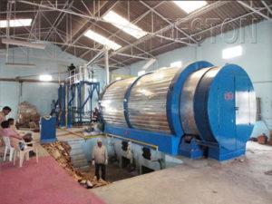 Waste Plastic Pyrolysis Plant - Higher Oil Yield Plastic