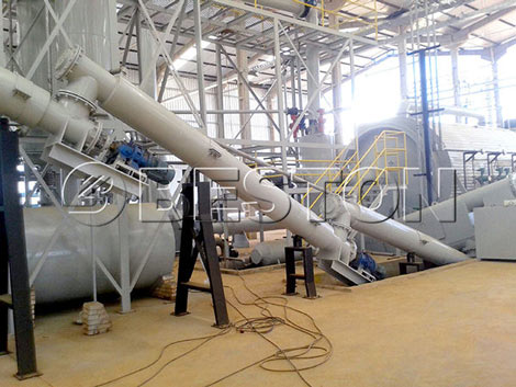 Plastic Recycling Pyrolysis Machine For Sale in Brazil