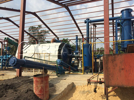 BLL-16 Tyre Recycling Plant For Sale