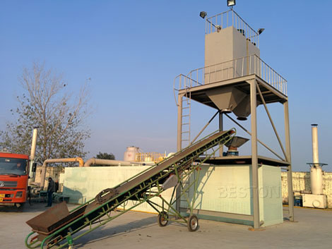BLL-40 Tyre Recycling Plant For Sale