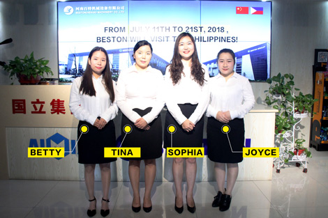 Beston Team Visit Philippines