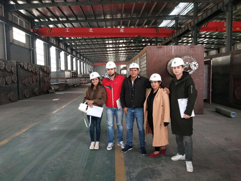 Colombia Customer Visit Our Factory