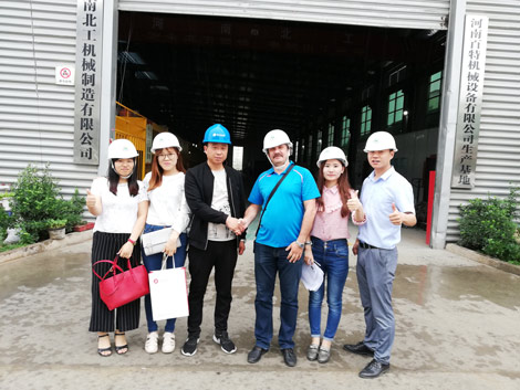 Russia Customers Visit Our Factory