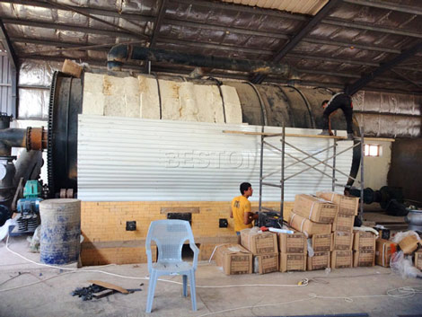 Tyre Recycling Plant Installed in Jordan
