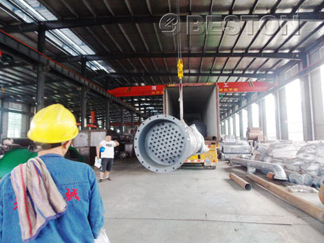 BLJ-10 Pyrplysis Plant in Factory