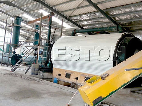 BLJ-10 Tyre Recycling Plant Cost