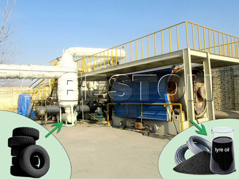 BLJ-6 Waste Tyre Recycling Plant Price