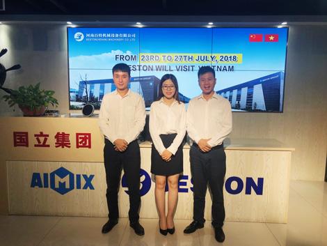 Beston Machinery Visit Vietnam Customers