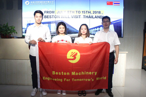 Beston-Machinery-Visiting-the-Thailand