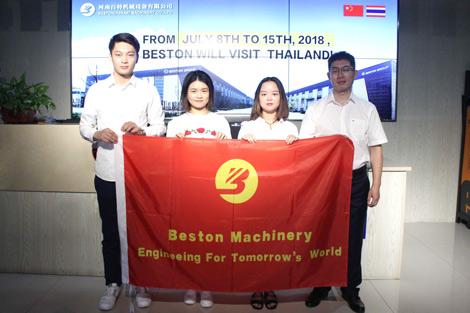 Beston-Machinery-Visiting-the-Thailand