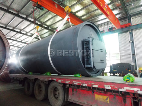 BLJ-10 Tyre Pyrolysis Plant to South Africa