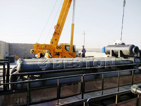 Installing BLL-30 Continuous Pyrolysis Plant