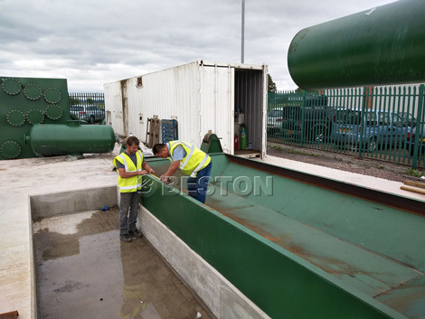 BLJ-16 Pyrolysis Plant Installed In UK
