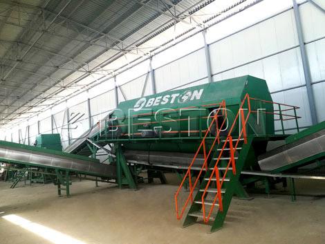 Install Waste Sorting Machine