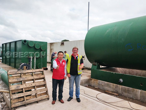 Pyrolysis Plant Installed In UK
