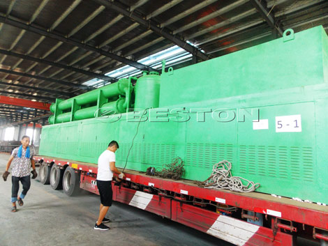BLL-20 Tyre Pyrolysis Plant to Romania