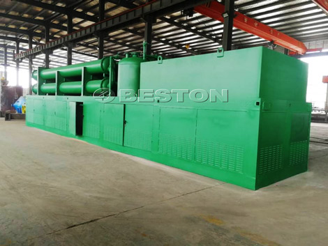 Deliver Tire Pyrolysis Plant to the Philippines