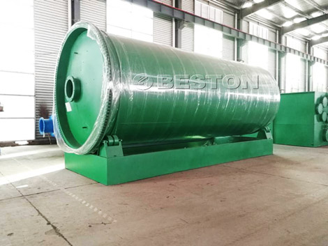 Tire Pyrolysis Equipment Shipped to In the Philippines