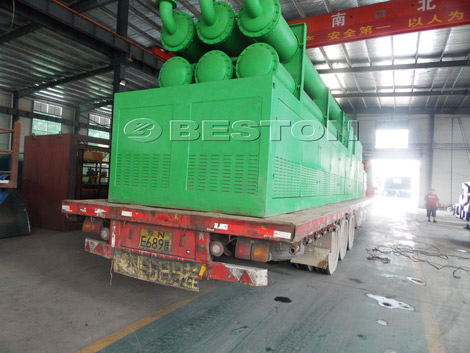 Tire Pyrolysis Plant For Delivery