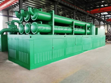 Beston Tyre Pyrolysis Plant In the Philippines Beston Group Waste