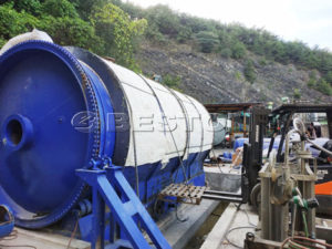 Tyre Pyrolysis Plant in South Korea