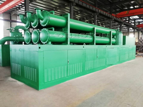 Waste Tire to Fuel Oil Pyrolysis Plant In the Philippines