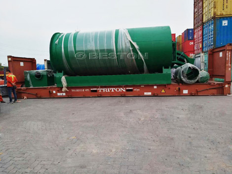 Waste Tyre Pyrolysis Plant to Canada