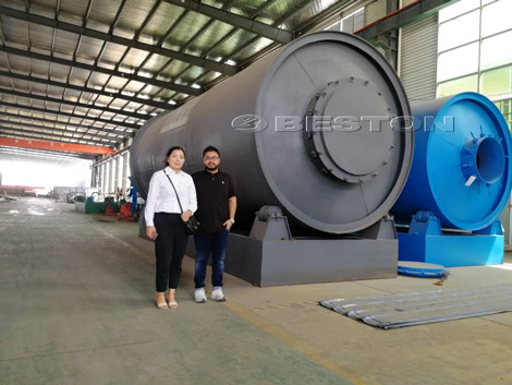 Bangladesh Customers See Pyrolysis Reator