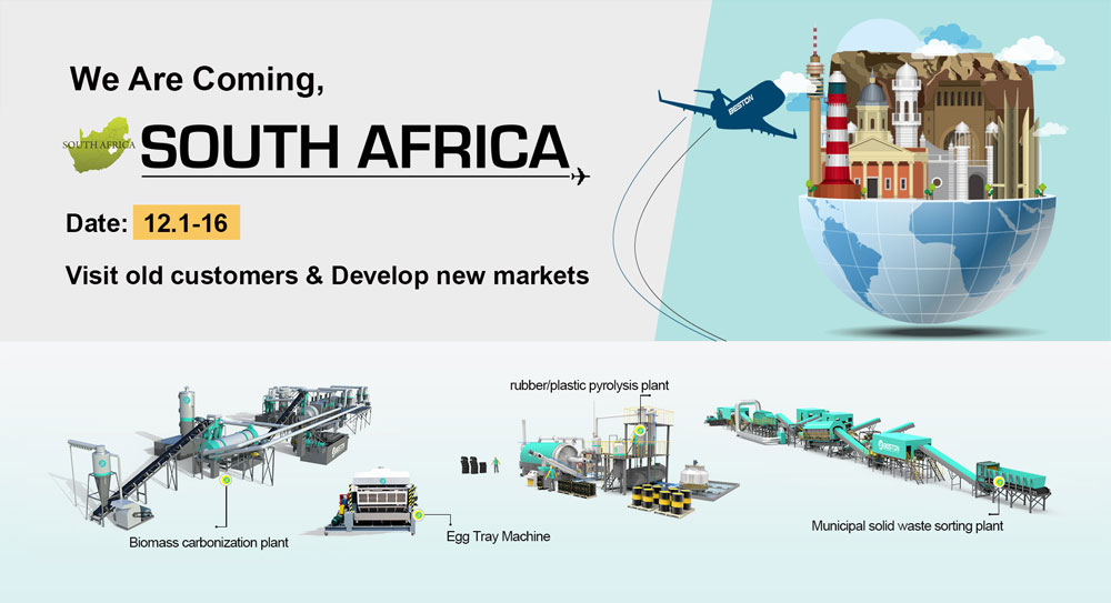 Beston Machinery Visit South Africa